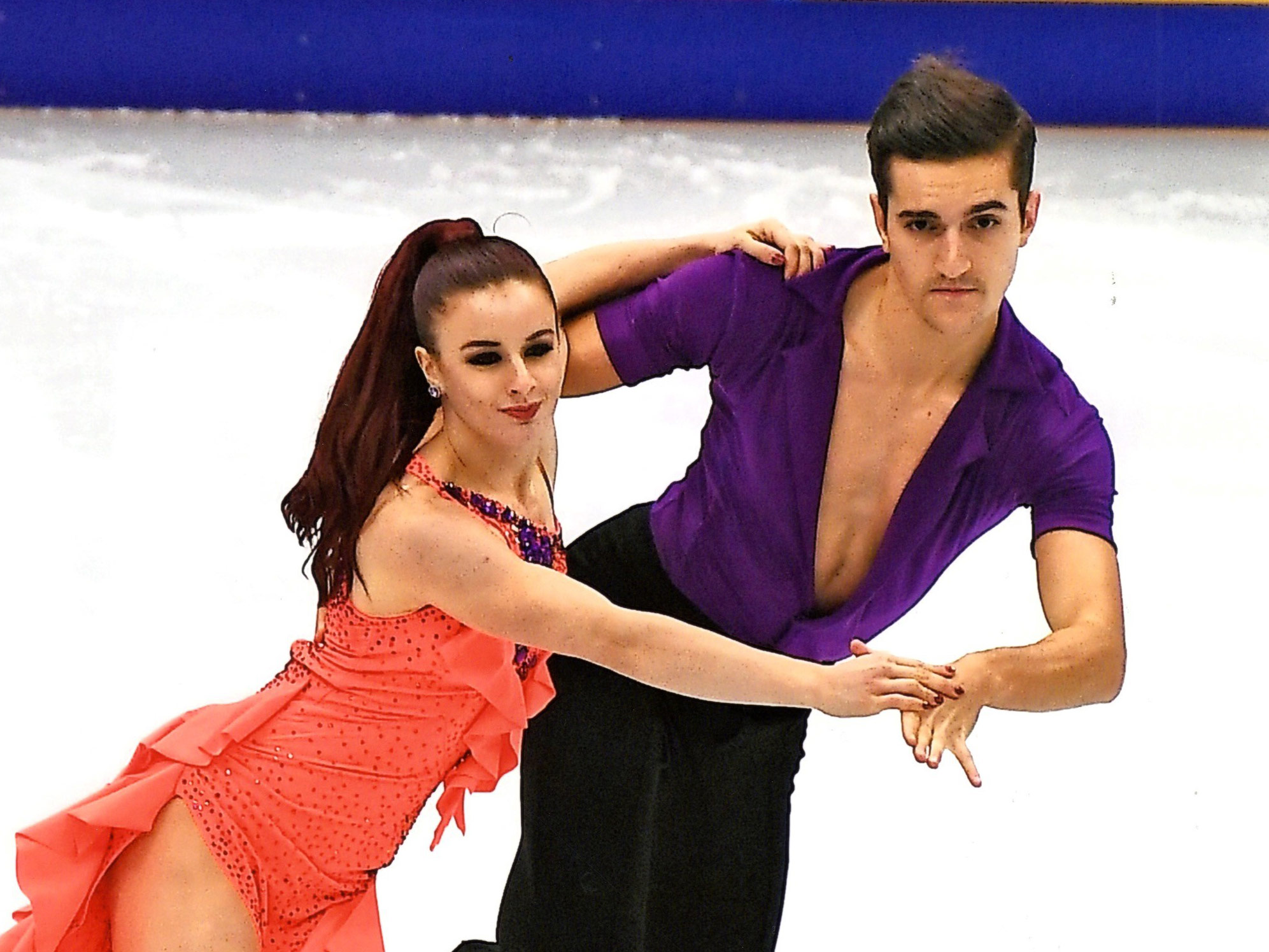 L'étudiante Marie-Jade Lauriault, et son partenaire Romain Le Gac, ont représenté la France lors des épreuves de patinage artistique des Jeux olympiques de PyeongChang.